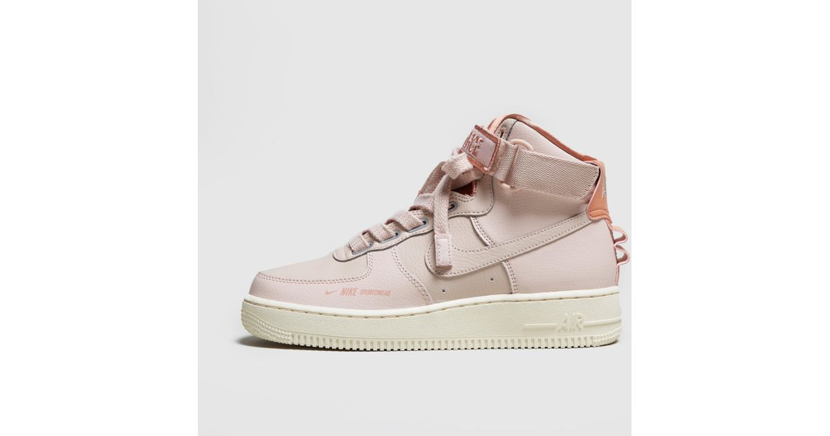 Nike Pink Air Force 1 High Utility Women's