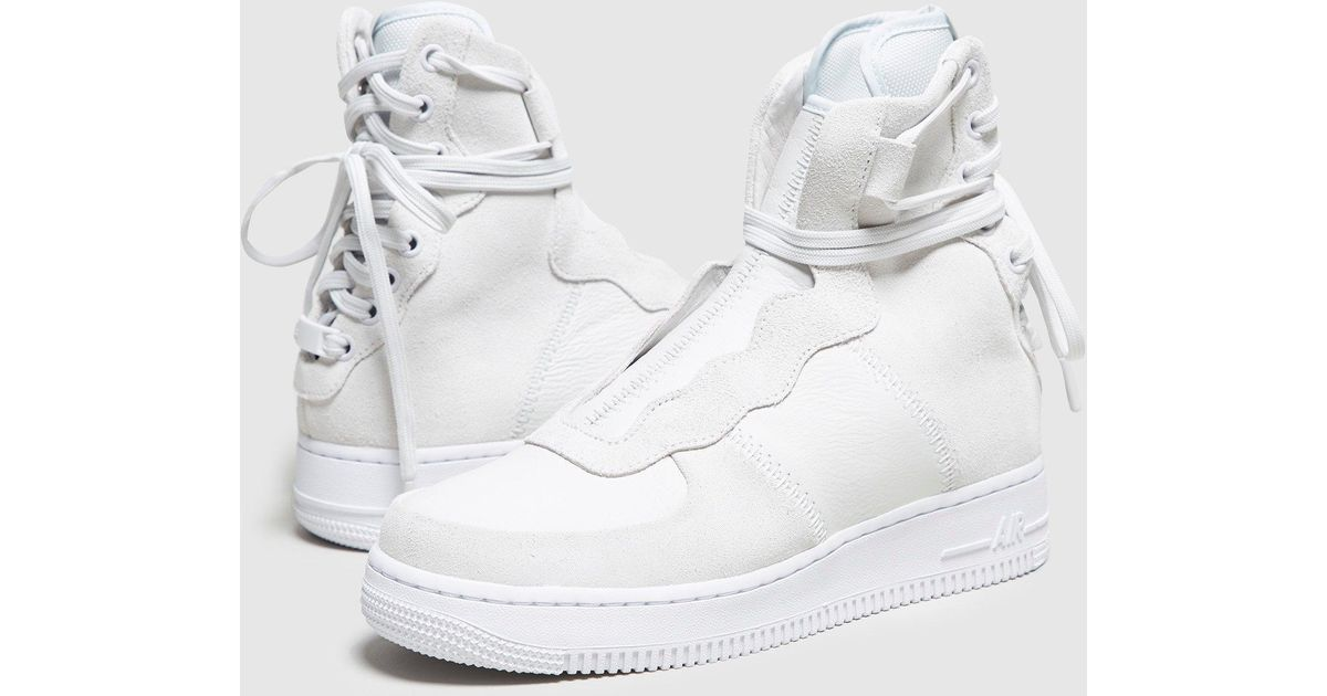 best service f559f b25fa Nike Air Force 1 Rebel Xx Women s in White for Men - Lyst
