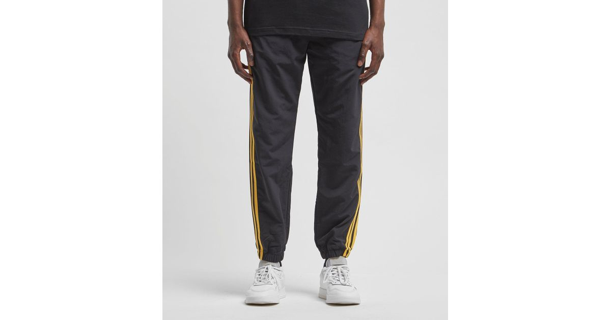 a631c77c47d Adidas Originals - Black Tourney Warm-up Woven 3-stripe Track Pants for Men  - Lyst