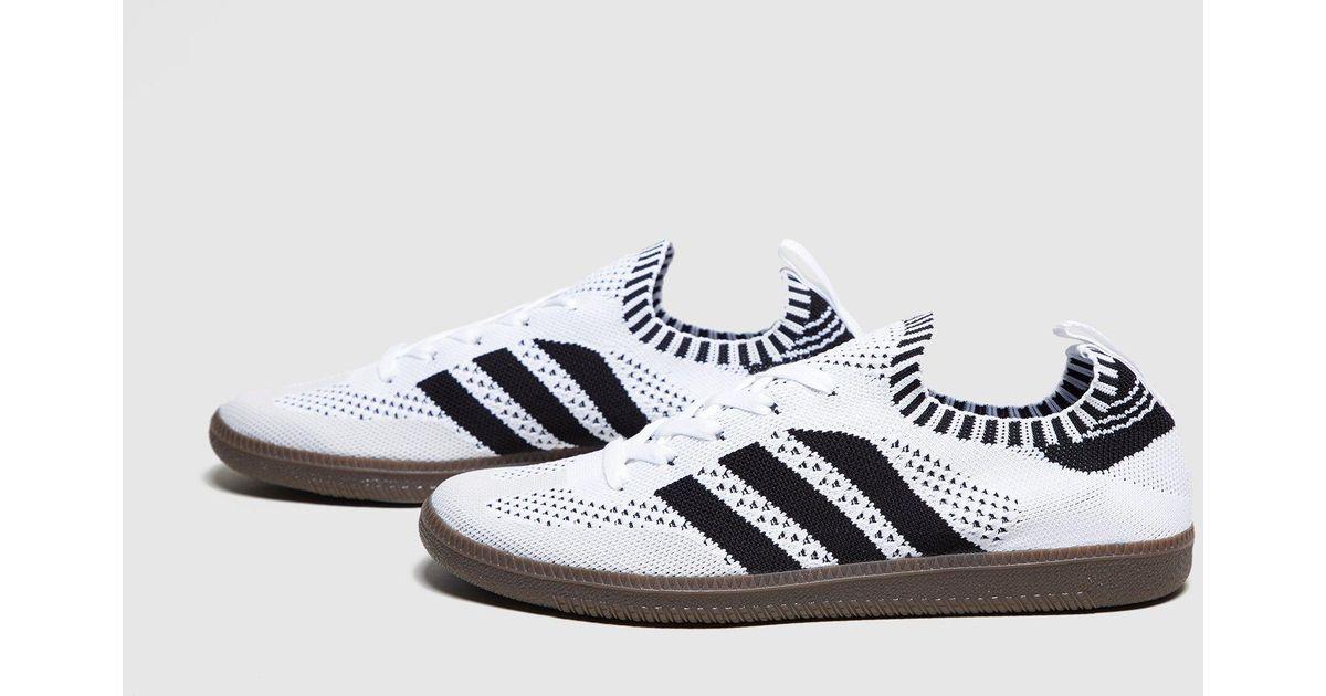 45d2bf061b ... black  big discount 5bbd1 a5fe0 ... reduced lyst adidas originals samba  primeknit in white for ...