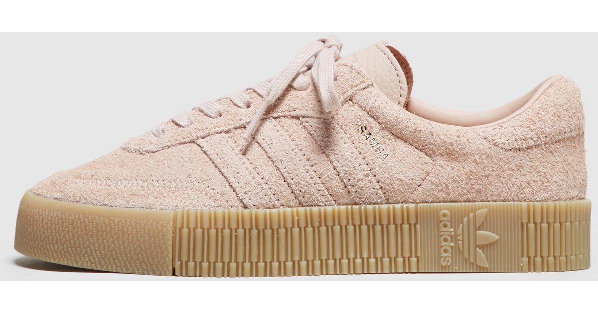 buy online e3ed2 d31d5 Lyst - adidas Originals Samba Rose Women s in Pink