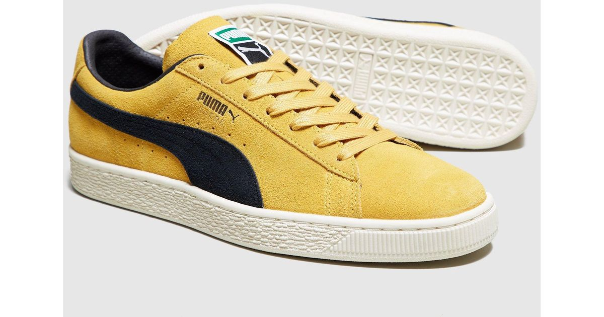 Puma Suede Og in Yellow for Men - Lyst eb29cd2f8