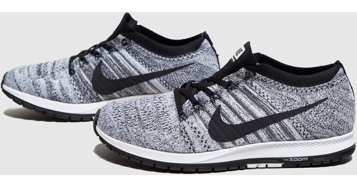 0c4163780051 Lyst - Nike Zoom Flyknit Streak in Black for Men