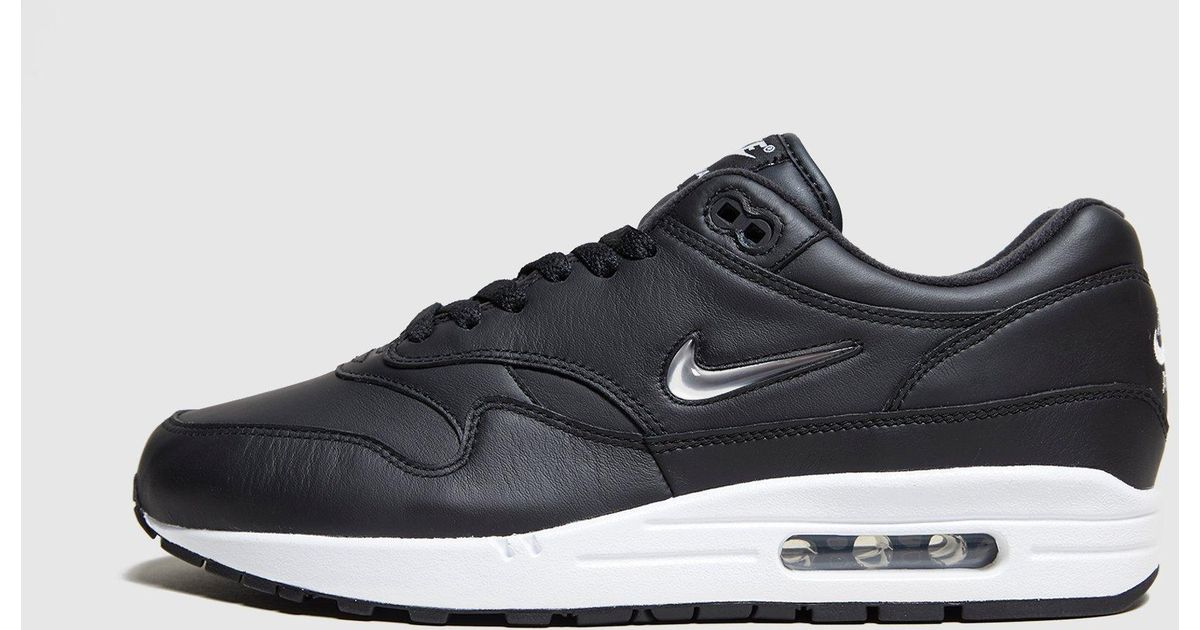 low priced 16a6c 6ecc9 Lyst - Nike Air Max 1 Jewel Premium in Black for Men