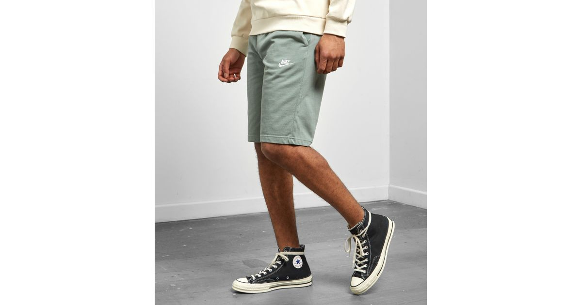 d516f2268 Lyst - Nike Club Shorts in Green for Men