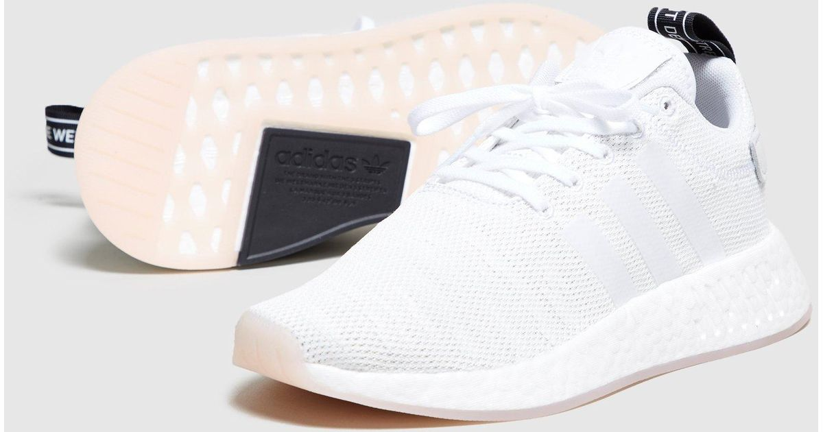 1d122984e Lyst - adidas Originals Nmd R2 Women s in White