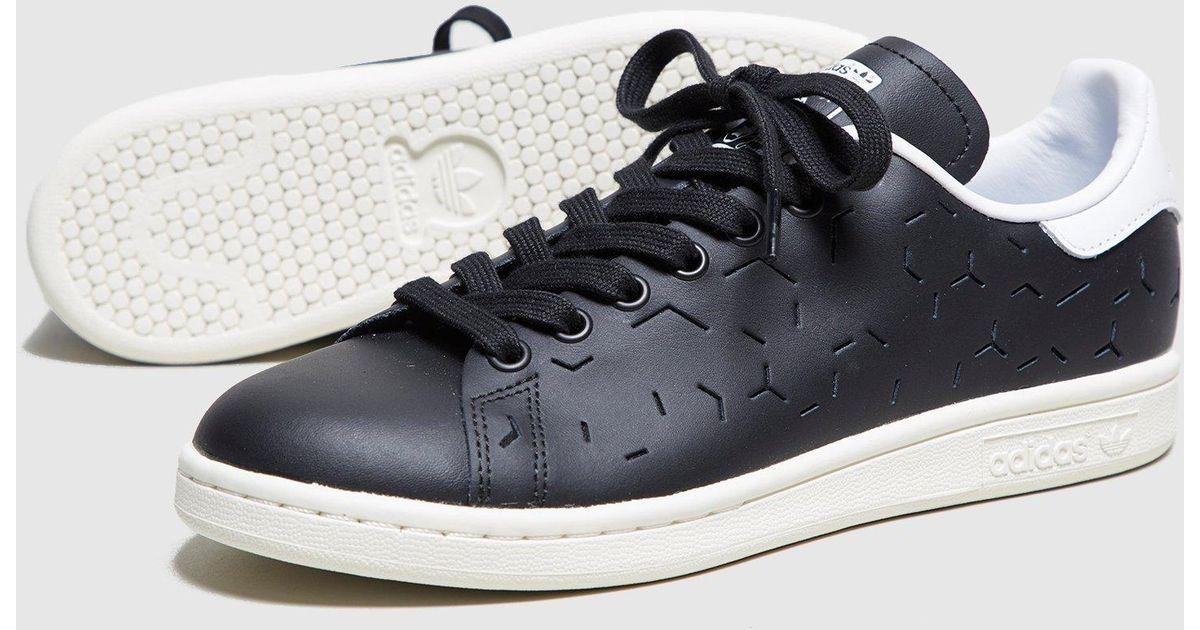 58cd8ae277a Lyst - adidas Originals Stan Smith Lazer Women s in Black