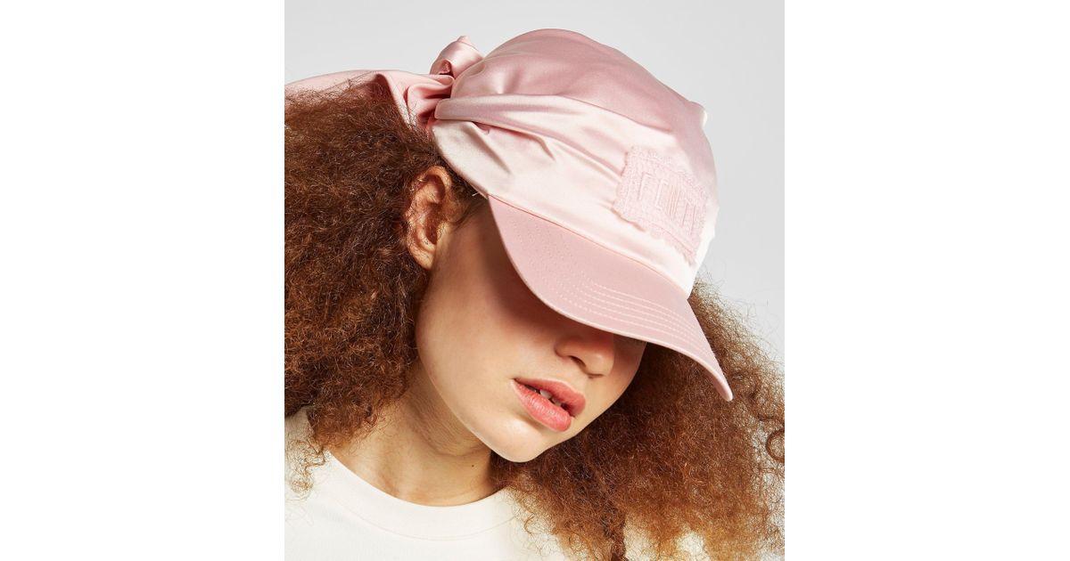 e6bd03a38fcad PUMA X Fenty Bandana Cap in Pink - Lyst