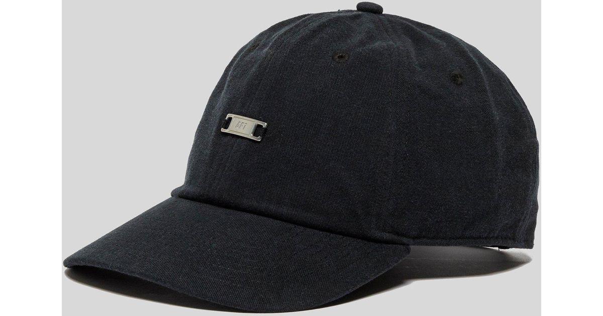878434a75c9e6c Lyst - Nike Air Force 1 Cap in Black for Men