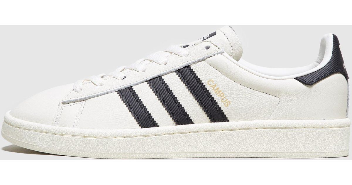 purchase cheap 3428f a7f8d Lyst - adidas Originals Campus Leather in White for Men