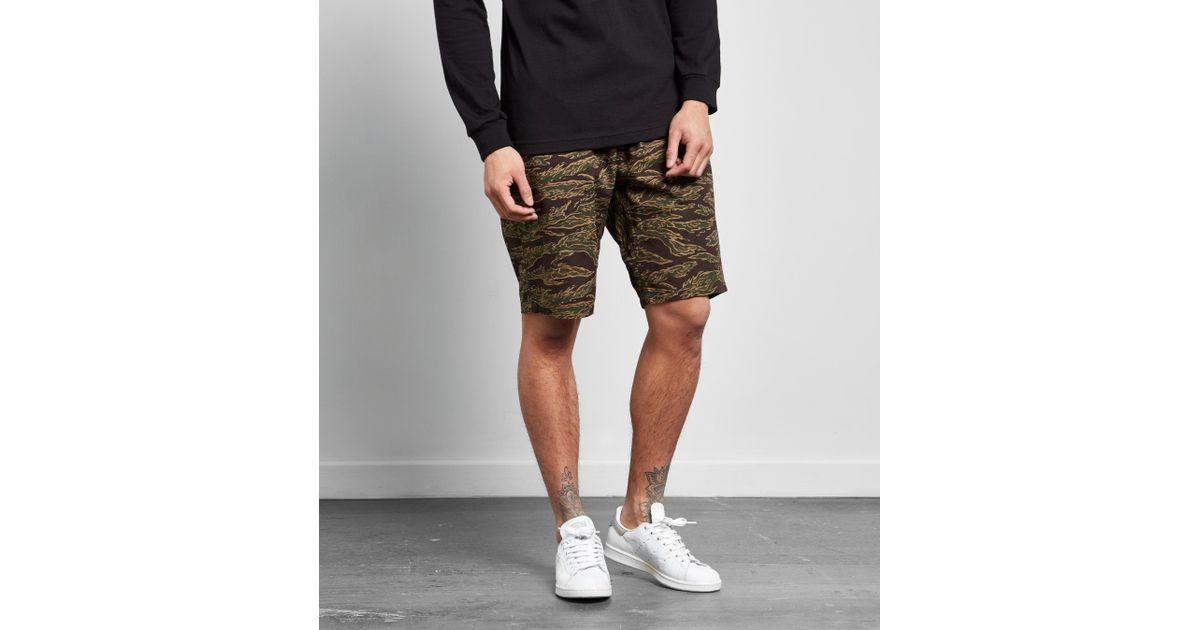 868bd95db3 Carhartt WIP Colton Clip Shorts in Green for Men - Lyst