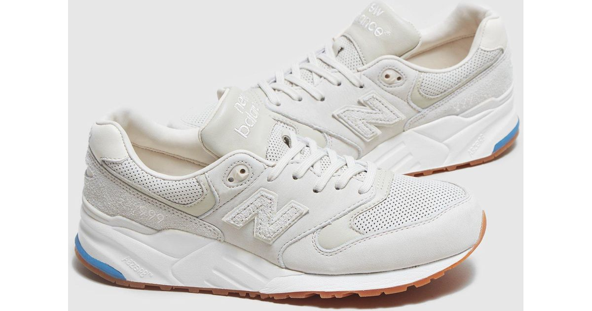 best service 24f27 24cb8 ... coupon code for new balance white 999 og suede perforated for men lyst  49bff 18478