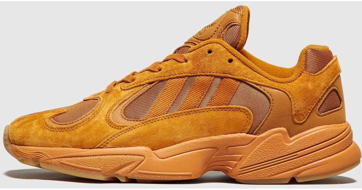 fd410bc41ce Lyst - adidas Originals Yung-1  ochre  - Size  Exclusive in Orange for Men