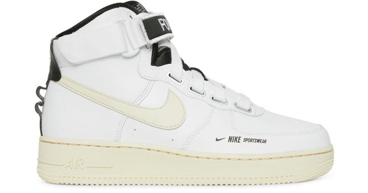 026664edddd2 Lyst - Nike Wmns Air Force 1 High Utility Sneakers in White for Men