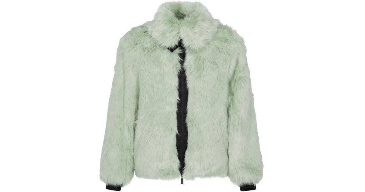 a06dec0a2c8b Lyst - Nike Wmns Ambush® Reversible Faux Fur Coat in Green