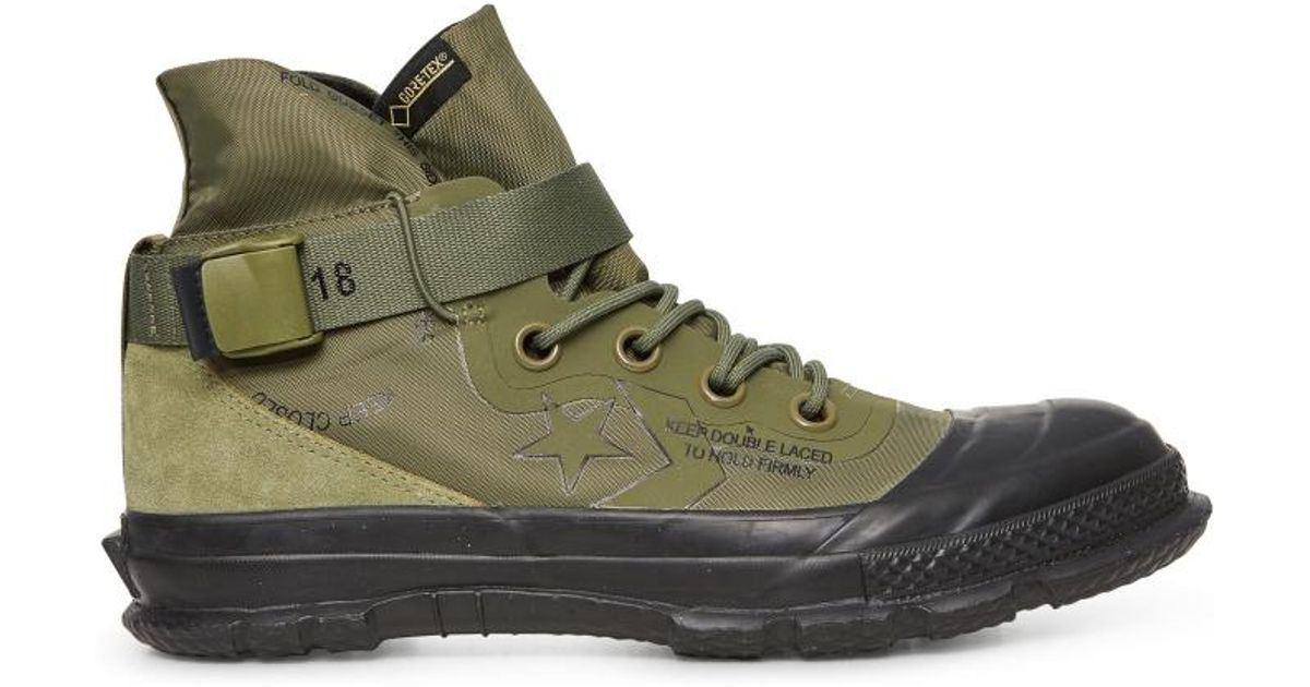 Lyst - Converse Fastbreak Mc18 High Top Sneakers in Green for Men 948f0d3e0