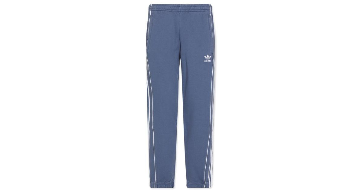 sports shoes a8356 12b5c Lyst - adidas Originals Pipe Sweatpants in Blue for Men