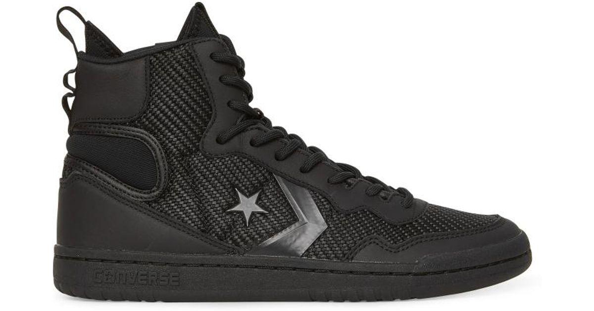 Lyst - Converse Fastbreak Cascade Sneakers in Black for Men e8281389d