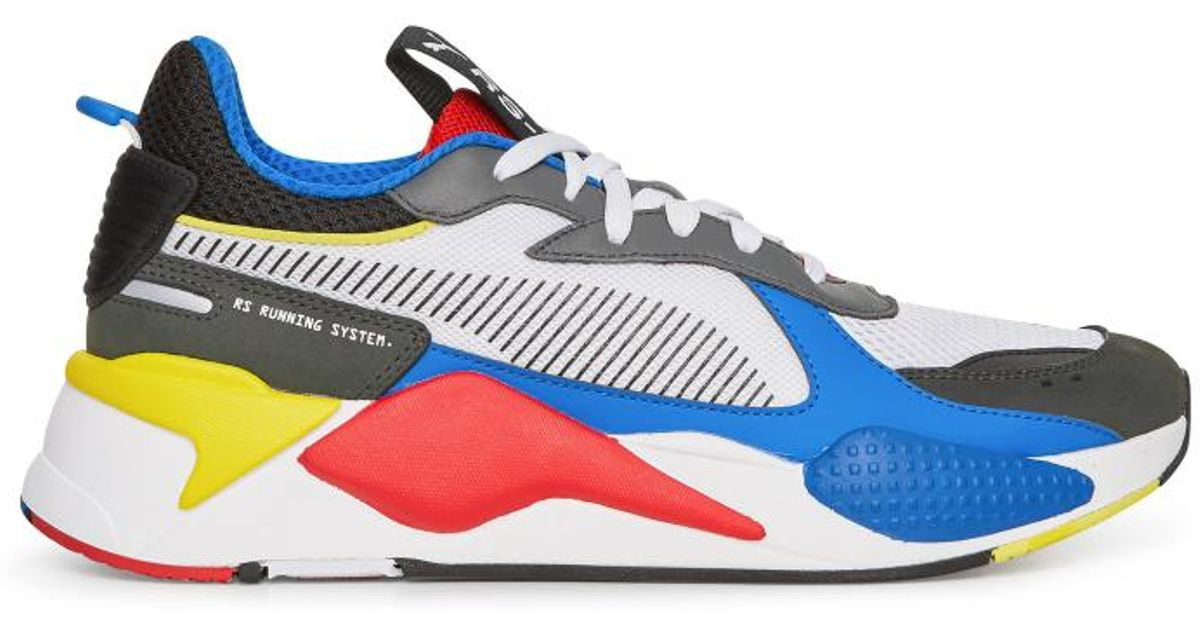 PUMA Rs-x Toys Sneakers White royal Blue in Blue for Men - Lyst e656733f7