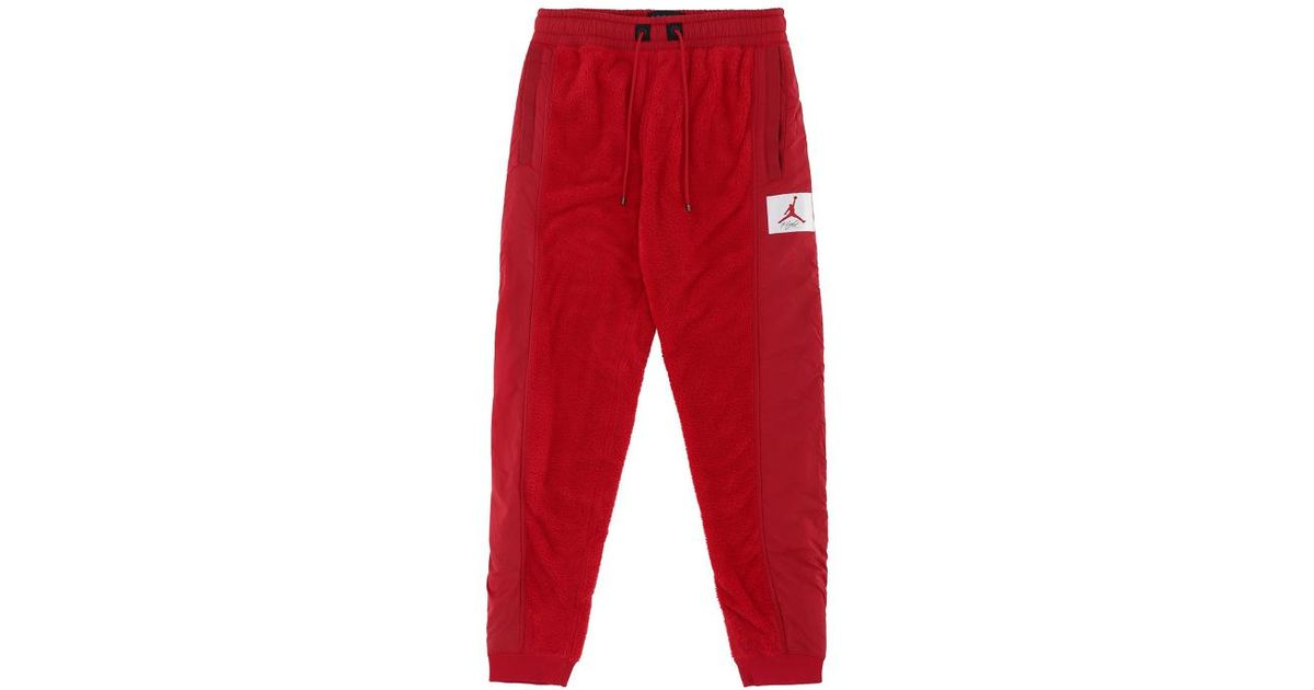f5bbacaf65f4c8 Nike Wings Of Flight Pants in Red for Men - Lyst