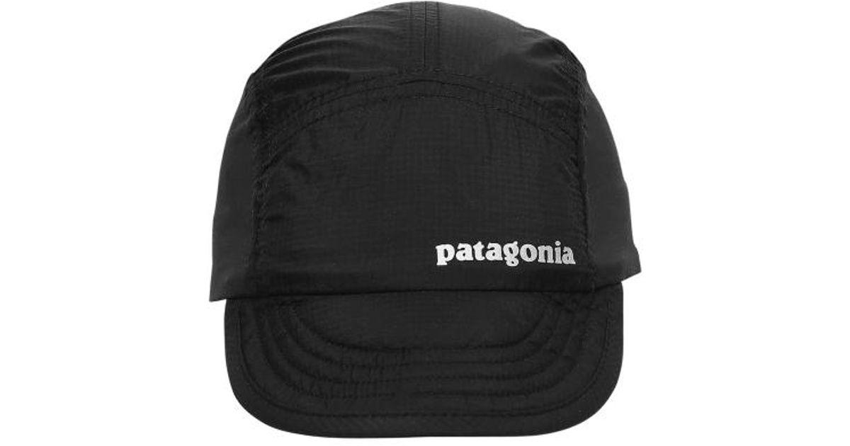 Patagonia Airdini Cap in Black for Men - Lyst f15c271edcd