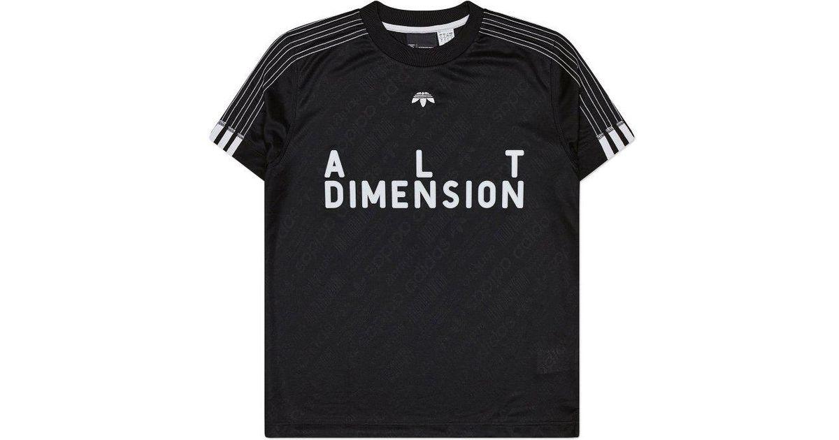 Lyst jersey adidas Originals Alexander Wang jersey Lyst de futbol II en negro para hombres 9b5db6