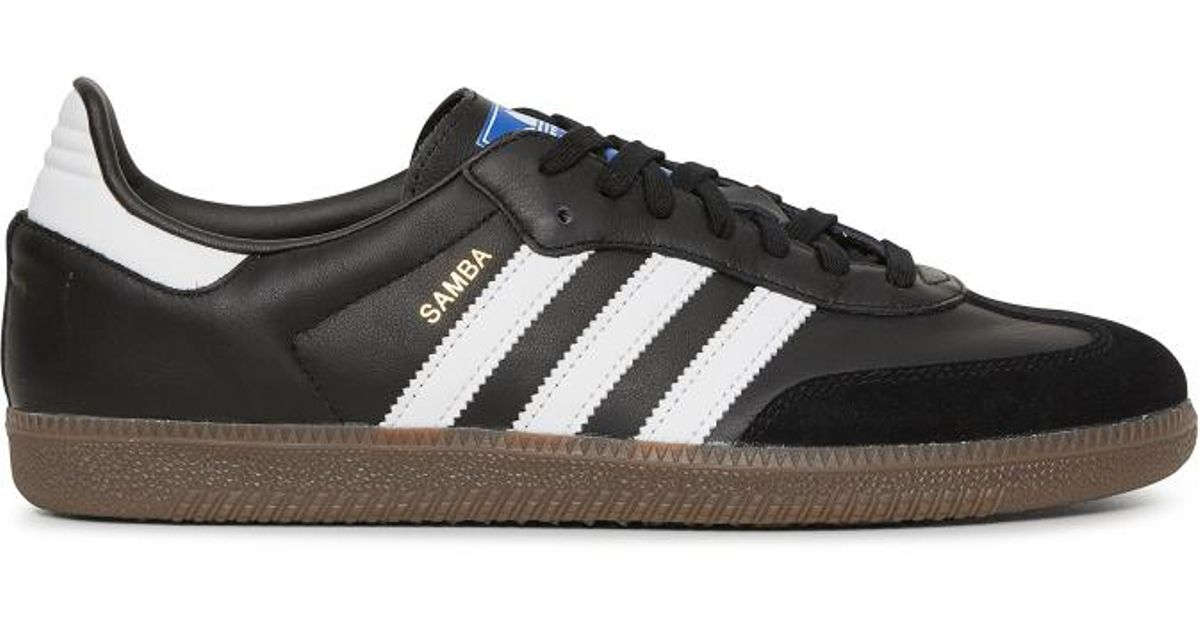 454be18768 Lyst - adidas Originals Samba Og Sneakers in Black for Men