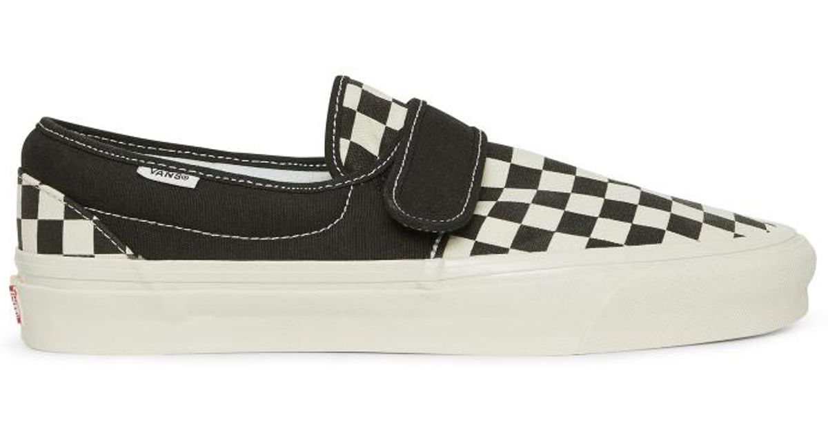 Lyst - Vans Slip-on 47 V Dx Anaheim Factory Pack Sneakers in Black 2f5ddf5ed