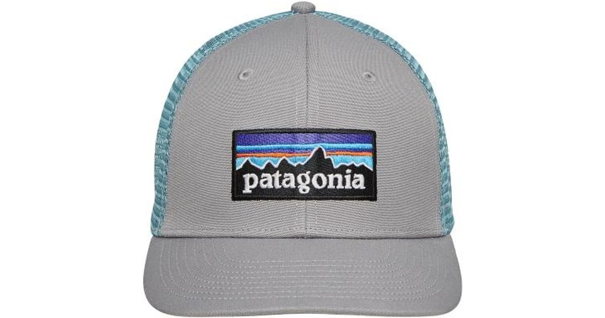 Patagonia P-6 Logo Trucker Hat Drigter Grey dam Blue in Gray for Men - Lyst 5bf355ede85c