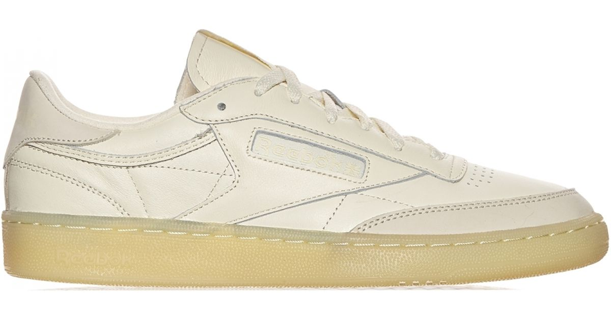 46ddd968df2e Reebok Club C 85  butter Soft Pack  Sneakers in White - Lyst