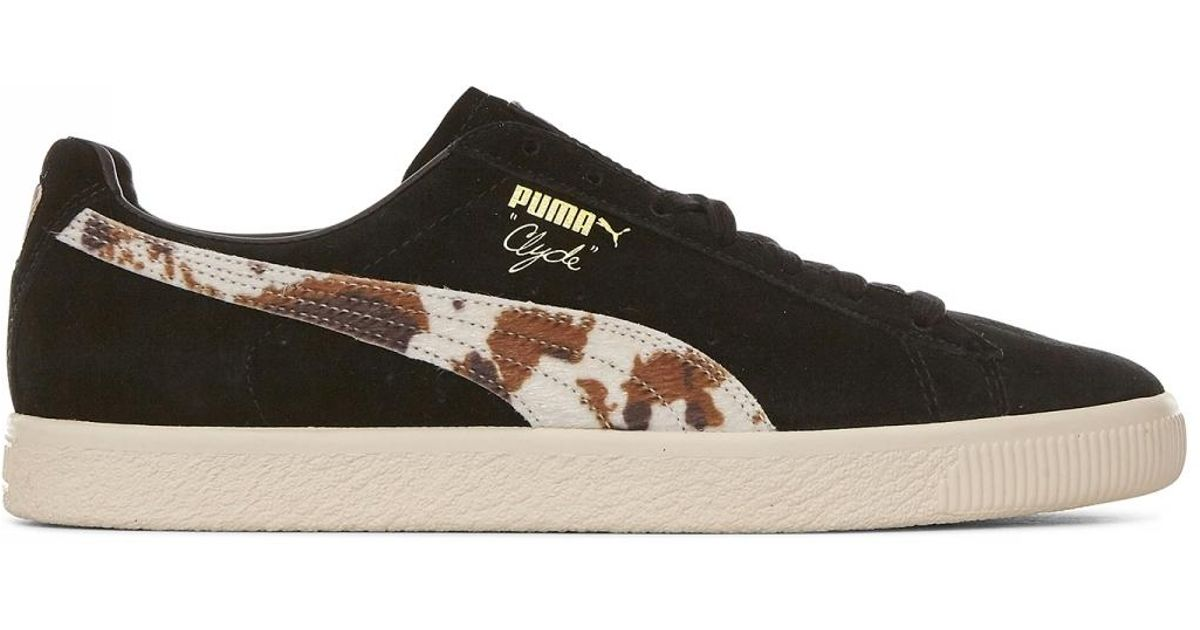 bb8f469ef194 Puma Packer X Clyde Sneakers in Black - Lyst