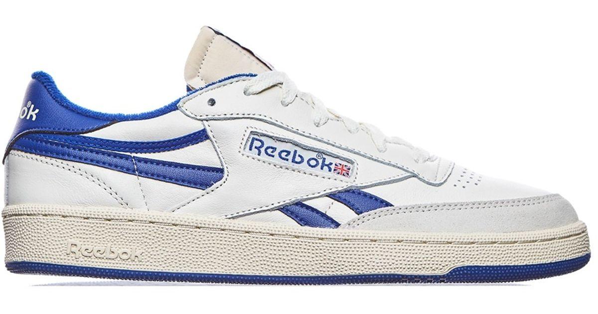 a59a3b3aeea341 Lyst - Reebok Revenge Plus Vintage Sneakers in Blue for Men