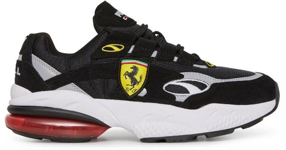 e3510f3ab9ff7f PUMA - Black Scuderia Ferrari Cell Venom Sneakers for Men - Lyst