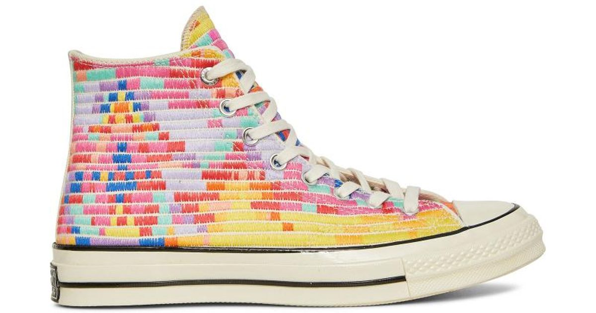 Converse Chuck Taylor All Star Hi 70 s Canvas Full Radial Mara Sneakers -  Lyst 5c9f5c38bd
