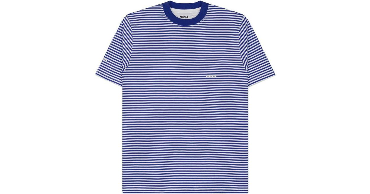 5f054b7cc9eb Lyst - Palace Aquabat Stripe T-shirt in Blue for Men