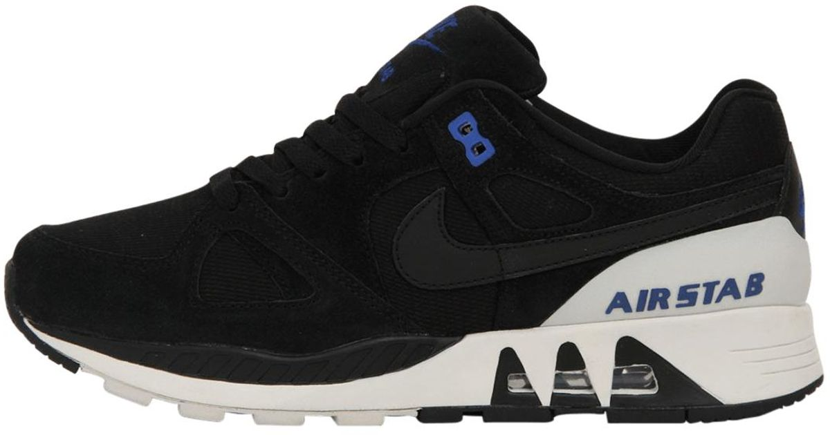 buy popular 5110b 4e20a Nike Air Stab in Black for Men - Lyst