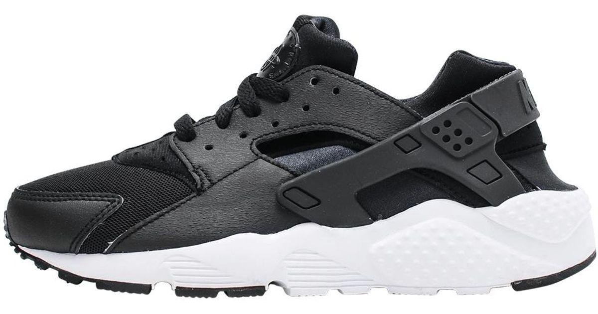 timeless design 75fc8 580d2 Lyst - Nike Air Huarache Run Gs in Black