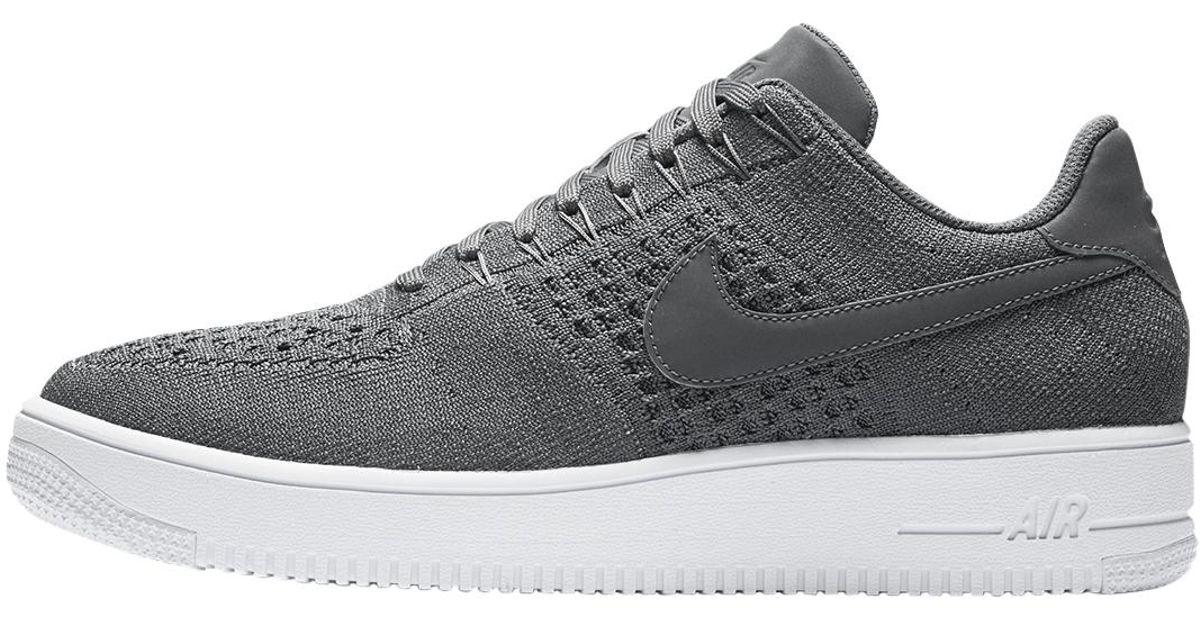 e95b2b62f039 Lyst - Nike Air Force 1 Ultra Flyknit Low in Gray for Men