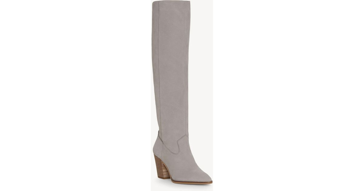 3db5cf24d4e Lyst - Lucky Brand Azoola Tall Boot in Gray