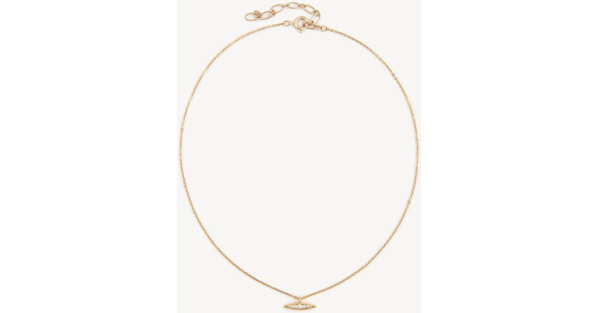 Sole Society Womens Cz Pendant Choker Necklace In Color: Gold One Size From Sole Society a2sWwFZqAv