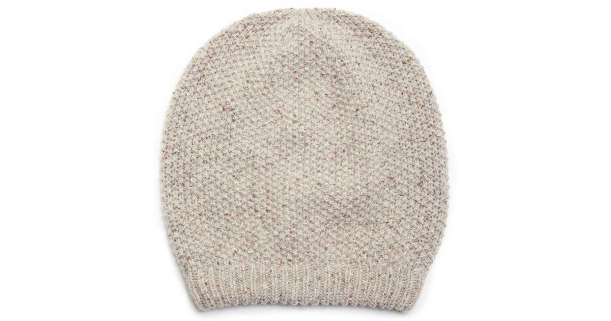 351f925d003 Lyst - Sole Society Slouchy Wool Beanie