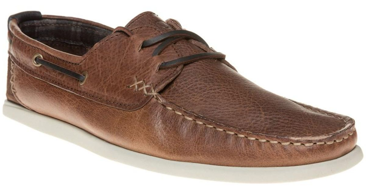 New Mens SOLE Tan Brown Trundle Leather Shoes Lace Up