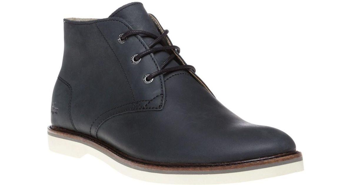 Lyst Hi Boots Lacoste 14 Sherbrooke Men Black In For 4qfa8nS