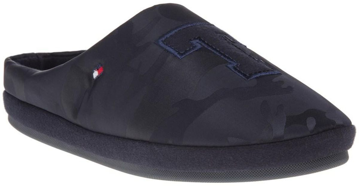 f2d013c5f1f Tommy Hilfiger Cornwall Slippers in Blue for Men - Lyst