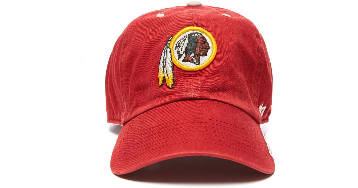 de0ff86007f Lyst - South Moon Under Washington Redskins Baseball Hat in Red for Men