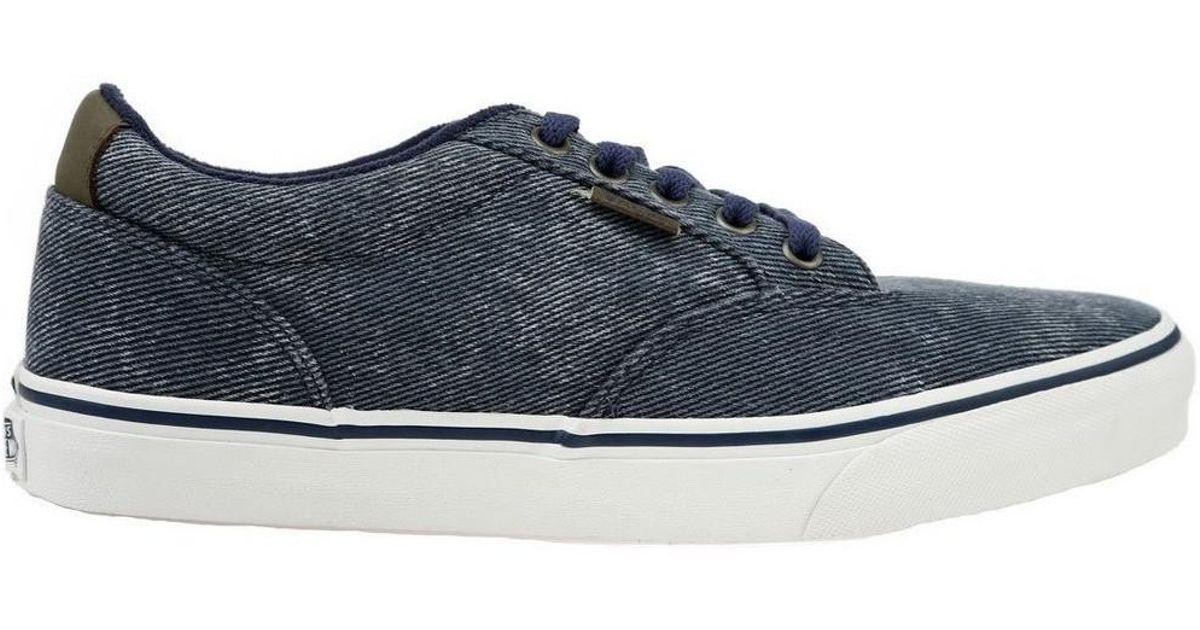 f6b68bccfa90af Vans Winston Washed Men s Skate Shoes (trainers) In Grey in Gray for Men -  Lyst