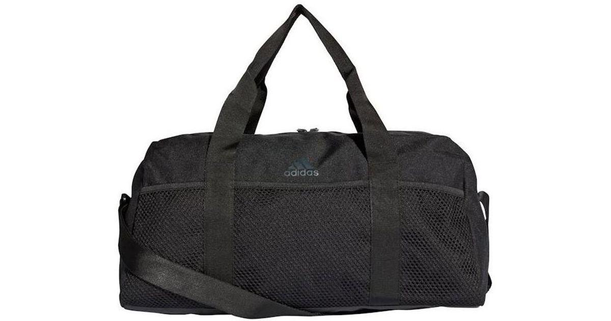 3b27a7df73 Adidas Core Duffel Men s Sports Bag In Black in Black for Men - Lyst