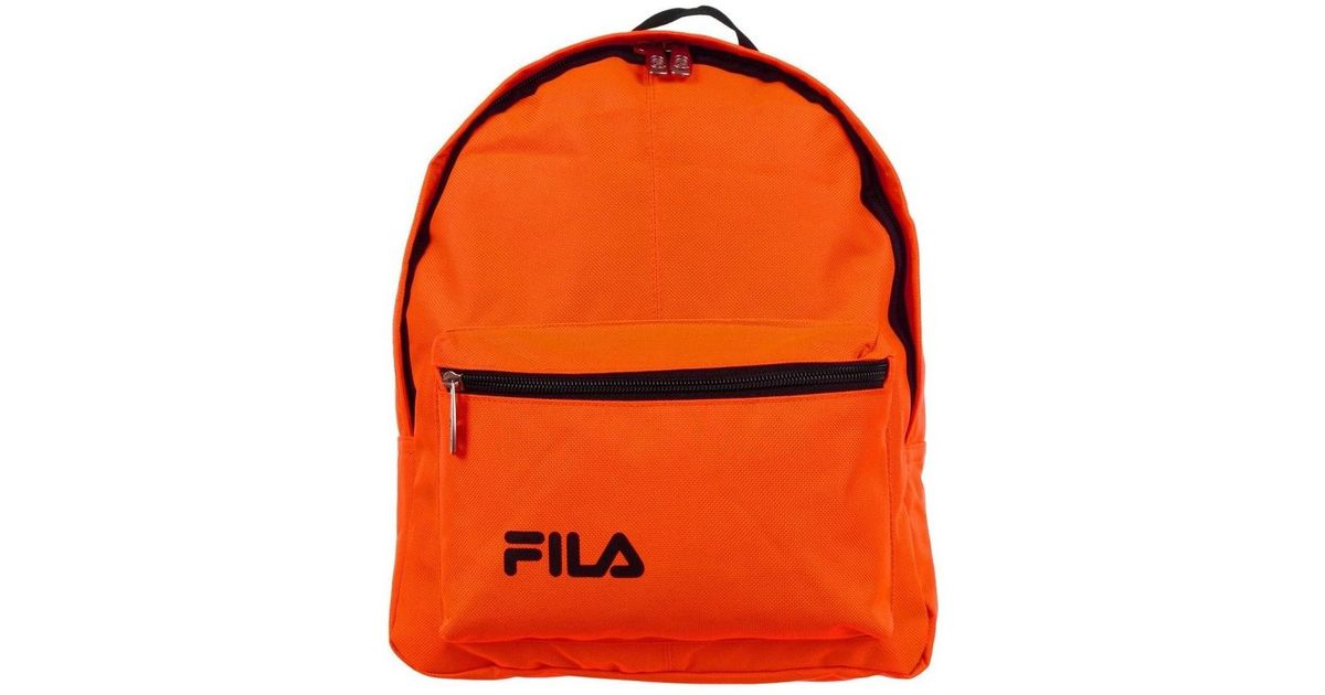 Fila Mini Marshall Bakcpack Men s Backpack In Orange in Orange for Men -  Lyst