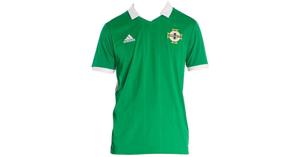 f7f744389 adidas 2018-2019 Northern Ireland Home Football Shirt Men s T Shirt In  Green in Green for Men - Lyst