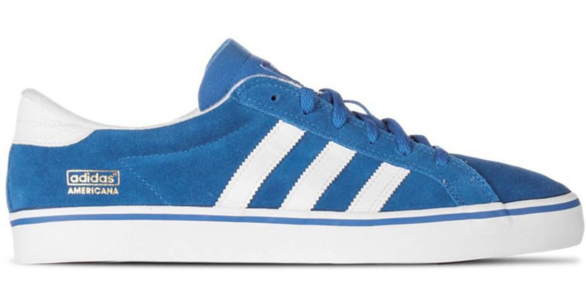 save off 02c44 b0270 Adidas Americana Vin Low Mens Shoes (trainers) In Blue in Blue for Men -  Lyst